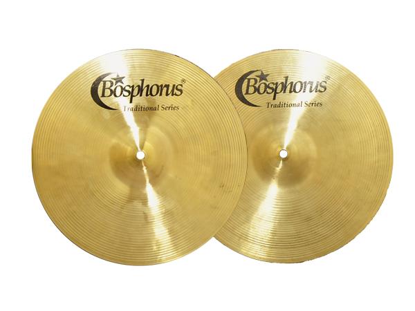 """Bosphorus ( ボスフォラス ) Traditional Series DARK HI-HATS 15"""" (PAIR) ☆ ボスフォラストラディショナル ダークハイハット"""