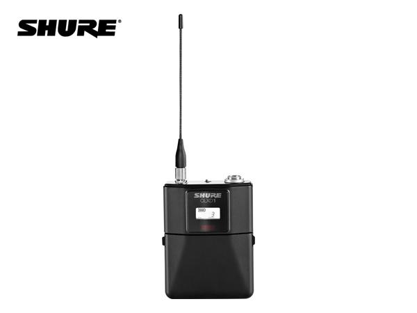 SHURE ( シュア ) QLXD1-JB ◆ ボディーパック型送信機 B帯モデル [ 送料無料 ][ QLX-D Series ]