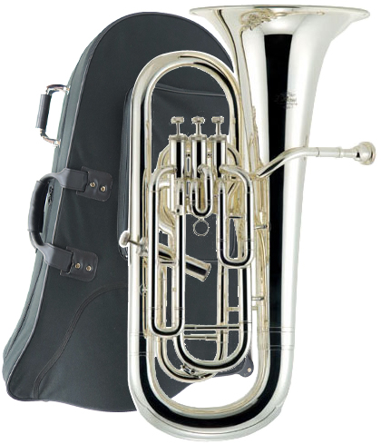 J Michael ( Jマイケル ) EU-1700S ユーフォニアム 新品 アウトレット 銀メッキ 4ピストン サイドアクション 管楽器 B♭ euphonium 本体 EU1700S B級品 送料無料(一部を除く)