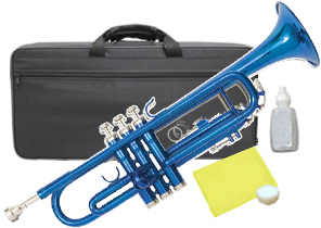 Kaerntner ( ケルントナー ) KTR-30 MBL トランペット ブルー 新品 初心者 入門 管楽器 本体 青色 メタリック カラー B♭ Trumpets 金管楽器 KTR30 BLUE 送料無料【北海道/沖縄/離島不可=送料実費請求】