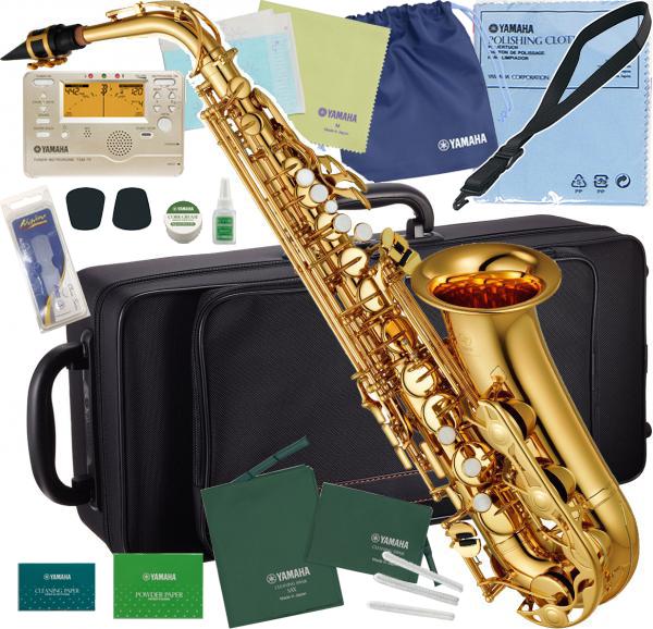 YAMAHA ( ヤマハ ) アルトサックス YAS-280 新品 管楽器 ゴールド 管体 E♭ 本体 初心者 サックス alto saxophone アルトサクソフォン 【 YAS280 セット C】 送料無料