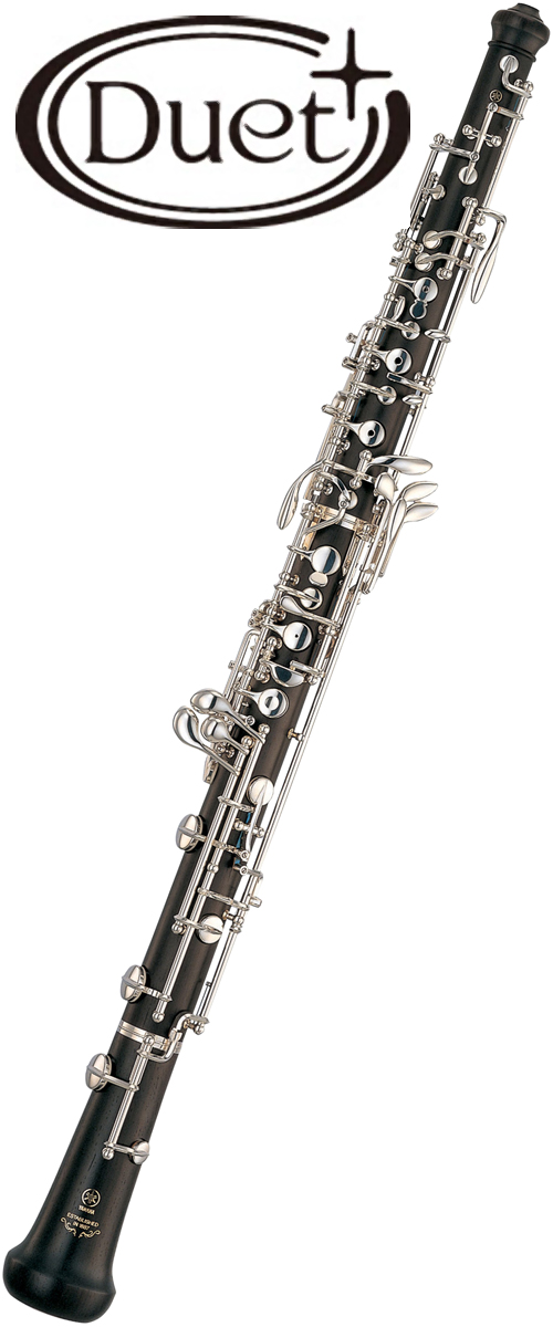 YAMAHA ( ヤマハ ) YOB-431M オーボエ 木製 新品 デュエットプラス セミオートマティックシステム 管体 グラナディラ 日本製 管楽器 カバードキイ YOB431M Oboe 送料無料(代引き不可)