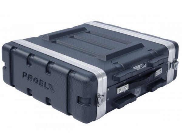 PROEL ( プロエル ) ラックケース 3U D420mm ABS樹脂製 ( FOABSR3U ) ラックエフェクター・アウトボード・パワーアンプ等 収納