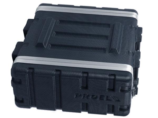 PROEL ( プロエル ) ラックケース 4U D420mm ABS樹脂製 ( FOABSR4U ) ラックエフェクター・アウトボード・パワーアンプ等 収納
