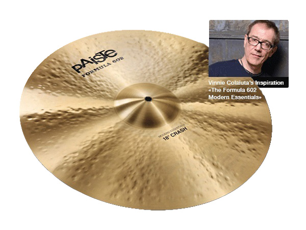 Paiste ( パイステ ) FORMULA 602 MODREN ESSENTIALS CRASH 22