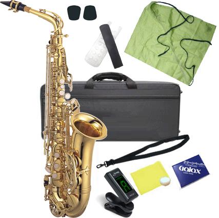 Kaerntner ( ケルントナー ) KAL62 アルトサックス 新品 管楽器 サックス 管体 ゴールド アルトサクソフォン 本体 E♭ alto saxophone  【 KAL62 セット D】一部送料追加 送料無料(沖縄/離島/同梱不可)