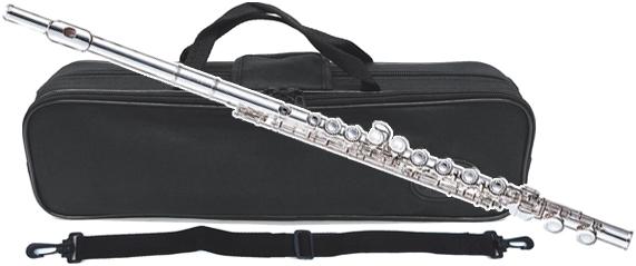 J Michael ( Jマイケル ) FL-300S フルート 新品 アウトレット 銀メッキ 初心者 管楽器 C管 カバードキイ 本体 頭部管 主管 足部管 シルバーメッキ FL300S 送料無料