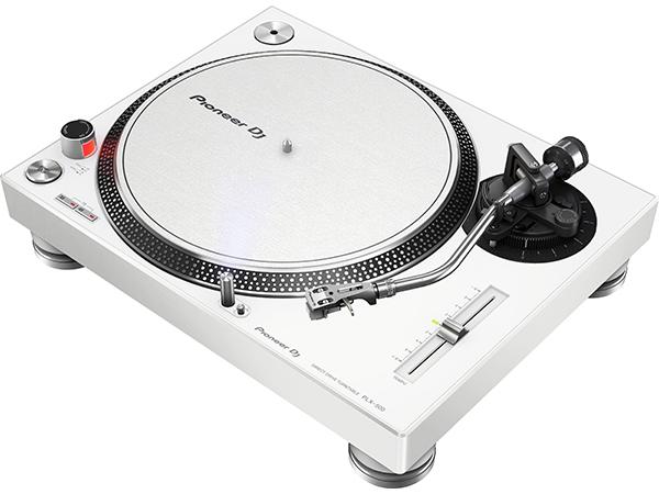 Pioneer ( パイオニア ) PLX-500 ◆【ホワイト】【PLX-500-W】 ◆【DJ】【ターンテーブル】【アナログ盤 レコード】