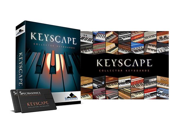 Spectrasonics Keyscape (USB Drive) 【3KSCP】【本数限定特価】 ◆【送料無料】【ソフト音源】【キーボード 音源】【DTM】【DAW】