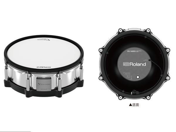 Roland ( ローランド ) PD-140DS for 電子ドラム エレドラ V-Drums スネア パッド 14インチ