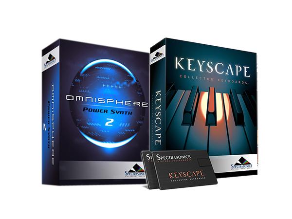 Spectrasonics Keyscape × Omnisphere 2 (USB Drive) セット【KEYOM2USBSET】【本数限定特価 】 ◆【 送料無料 】【 音源ソフト 】【 ソフトシンセ 】