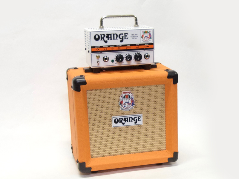 Orange ( オレンジ ) Micro Terror スタックセット【チューブ アンプ 】【 【Micro Terror 20 PPC108 】】