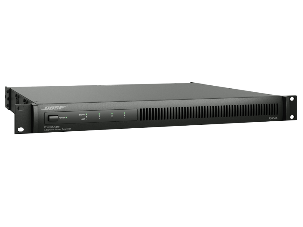 BOSE ( ボーズ ) POWERShare PS604A ◆ パワーシェア 設備用途向け 4チャンネル パワーアンプ  PS604に機能追加の後継モデル 【POWER Share PS-604A】 [ 送料無料 ]