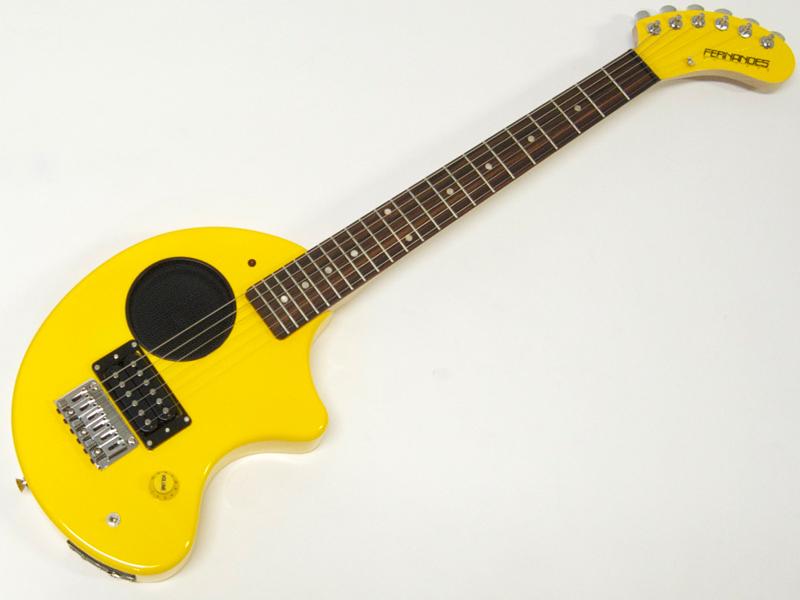 FERNANDES ( フェルナンデス ) ZO-3 (YELLOW) 【アンプ内臓 ミニギター】