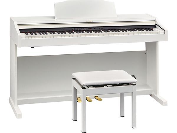 Roland ( ローランド ) RP501R-WHS ◆【ホワイト】【受注後納期連絡 】 ◆【送料無料】【電子ピアノ】【88鍵盤】【ピアノタッチ】【据え置きタイプ】