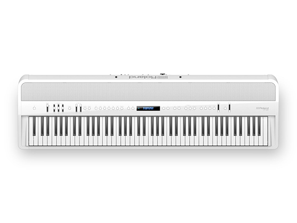 Roland ( ローランド ) FP-90-WH ◆ 【ホワイト】 ◆【送料無料】【電子ピアノ】【88鍵盤】【ピアノタッチ】