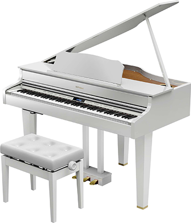 Roland ( ローランド ) GP607-PWS ◆ 【白塗鏡面艶出し塗装仕上げ】【受注後納期連絡 】 ◆【送料無料】【電子ピアノ】【88鍵盤】【ピアノタッチ】【据え置きタイプ】