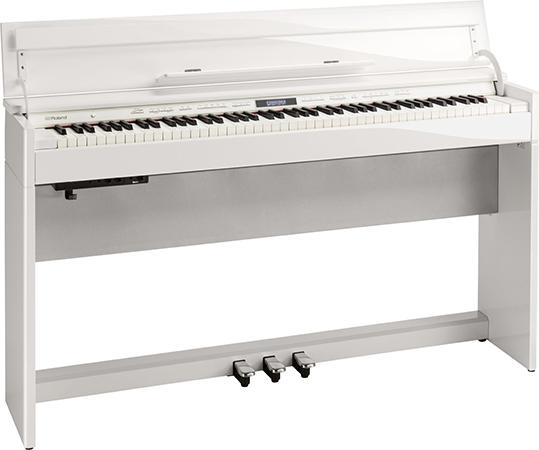 Roland ( ローランド ) DP603-PWS ◆ 【白塗鏡面艶出し塗装仕上げ】【受注後納期連絡 】 ◆【送料無料】【電子ピアノ】【88鍵盤】【ピアノタッチ】【据え置きタイプ】