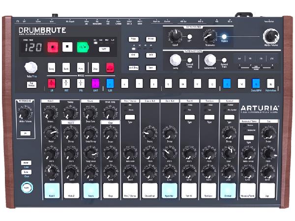 Arturia ( アートリア ) DrumBrute ◆【 送料無料 】【 リズムマシン 】【 DTM 】