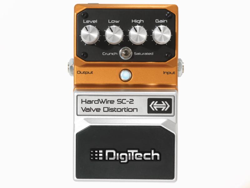 Digitech ( デジテック ) SC-2 VALVE DISTORTION【HardWire シリーズ 特価品 WO 】【お買い得プライス!   】