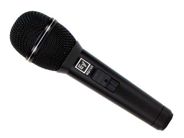 Electro-Voice ( EV エレクトロボイス ) ND76S[ OUTLET 特価品 ] ◆ ダイナミックマイク 箱ボロ アウトレット【折りたたみ傘付 】 [ 送料無料 ]