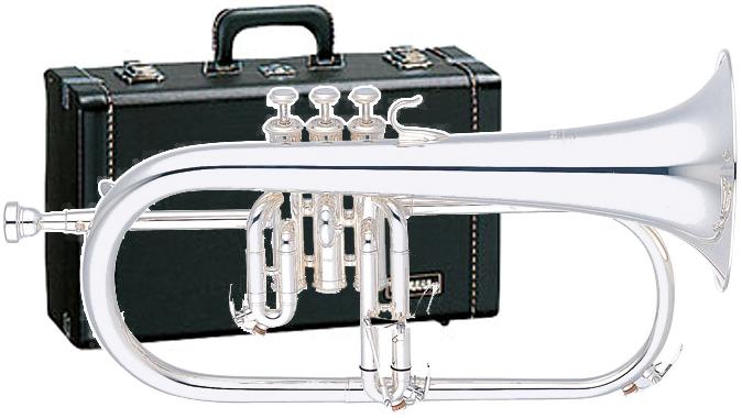 YAMAHA ( ヤマハ ) YFH-631GS フリューゲルホルン 新品 銀メッキ 日本製 管楽器 管体 シルバーメッキ B♭ 本体 プロフェッショナルモデル 楽器 Flugelhorn YFH631GS 送料無料