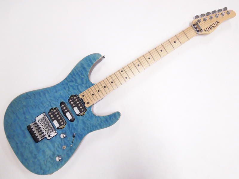 SCHECTER ( シェクター ) NV-3-24-AL( Aqua Blue / Maple )【日本製 エレキギター 】