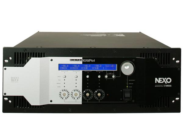 NEXO ( ネキソ ) NXAMP4x4 ◆ 大出力4chアンプ内蔵デジタルTDコントローラー [ NXAMP series ][ 送料無料 ]