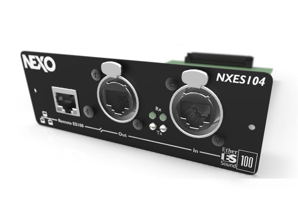 NEXO(ネキソ)NXES104◆NXAMP拡張用EtherSoundデジタルネットワークカードオプションカード[NXAMPseriesoption][送料無料]