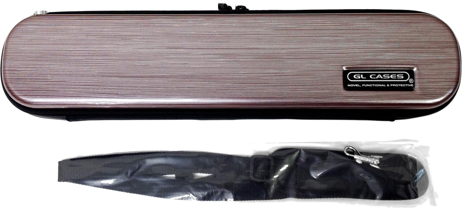 GL CASES ( GLケース ) GLE-FL L23 フルートケース メタリック バーガンディー C管 フルート ハードケース 管楽器 ケース flute cases