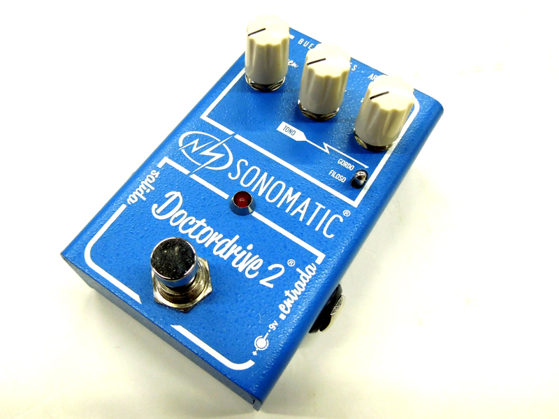 ソノマティック エフェクター】 Doctordrive Overdrive【オーバードライブ Sonomatic 2 ギター ) (