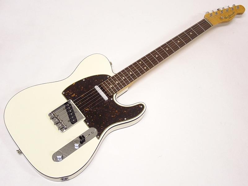 Vanzandt TLV-R2 Flame Neck LTD STD (VWH/R)【限定特価】【 日本製 ギター WO 7952】【新春特価! 】 日本製 オーダーモデル