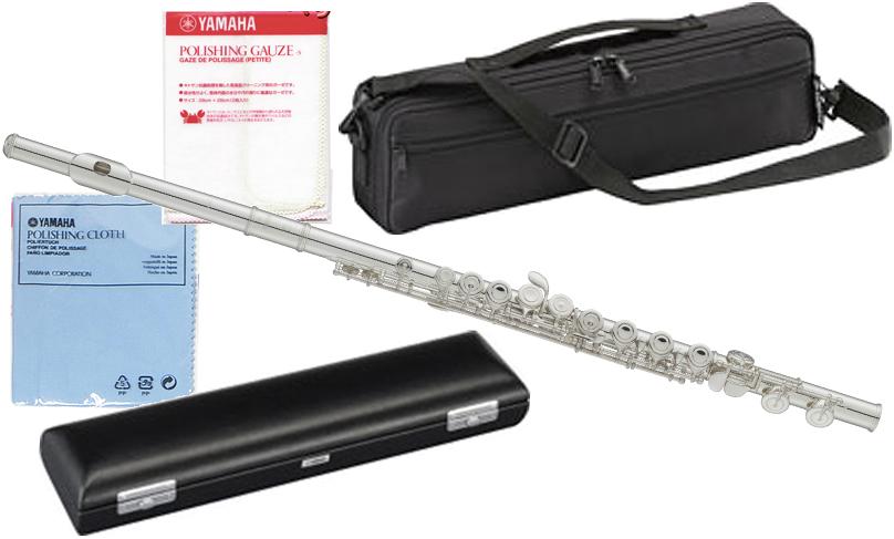 YAMAHA ( ヤマハ ) YFL-312 頭部管 銀製 フルート 新品 Eメカニズム付き 銀メッキ 管体 カバードキイ オフセット CY 頭部管 主管 足部管 管楽器 YFL312 flute 送料無料