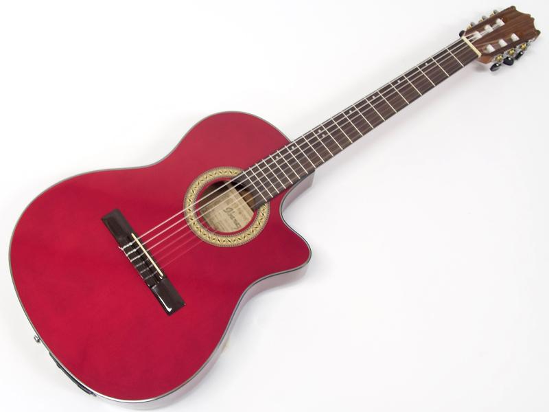 ちょっとエレガットが欲しい!というあなたに Ibanez ( アイバニーズ ) GA30TCE TRD【 エレガット クラシック ギター 】【歳末特価! 】
