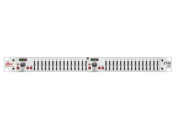 DBX ( ディービーエックス ) 215S ◆ 2ch 15バンド イコライザー [ 音響機器 ][ 送料無料 ]