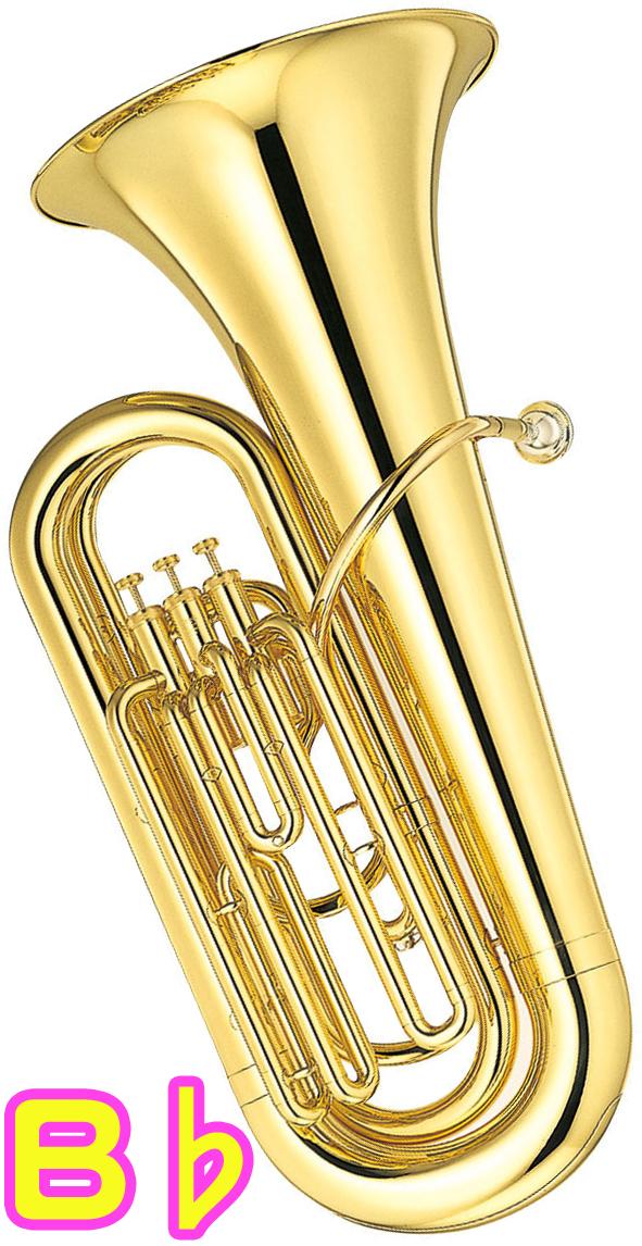 YAMAHA ( ヤマハ ) YBB-105 新品 B♭ チューバ 3ピストン 日本製 ゴールド 管体 トップアクション ピストンチューバ 管楽器 バス 本体 YBB105 tuba 一部送料追加 送料無料(北海道/沖縄/離島/代引き不可)