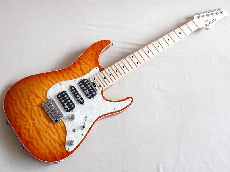 SCHECTER ( シェクター ) SD-DX-24-AS-VTR(LDSB/M)【国産エレキギター KH】 シェクター 日本製
