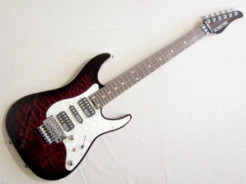 SCHECTER ( シェクター ) SD-DX-24-AS(RDSB/R)【国産エレキギター 】 シェクター 日本製