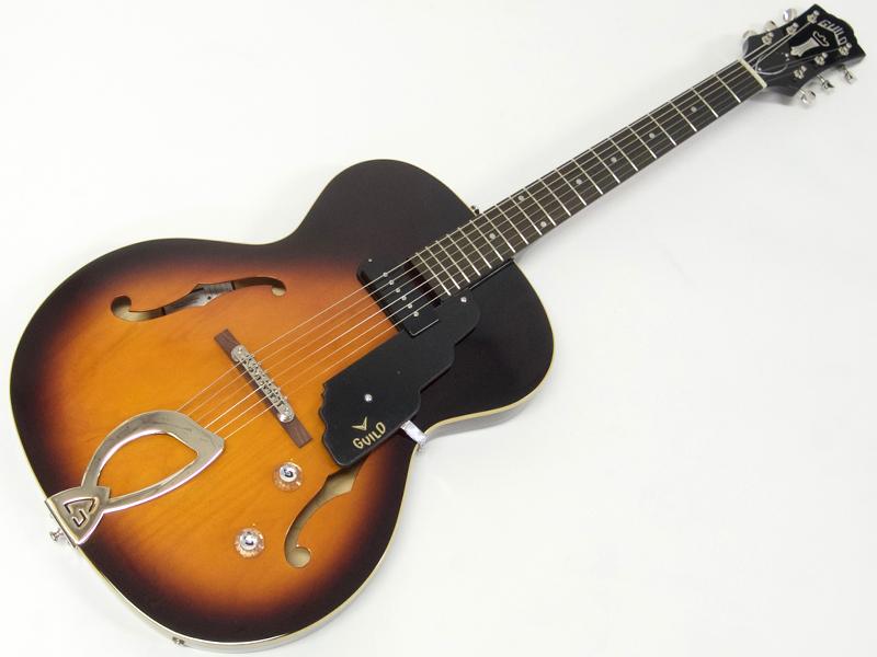GUILD ( ギルド ) T-50 SLIM(VSB) 【エレキギター フルアコ 】【新春特価! 】