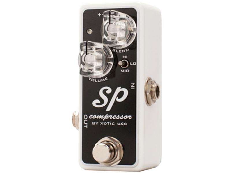 Xotic ( エキゾチック ) SP Compressor 【コンパクト コンプレッサー WK】【C4061 パッチケーブルプレゼント 】