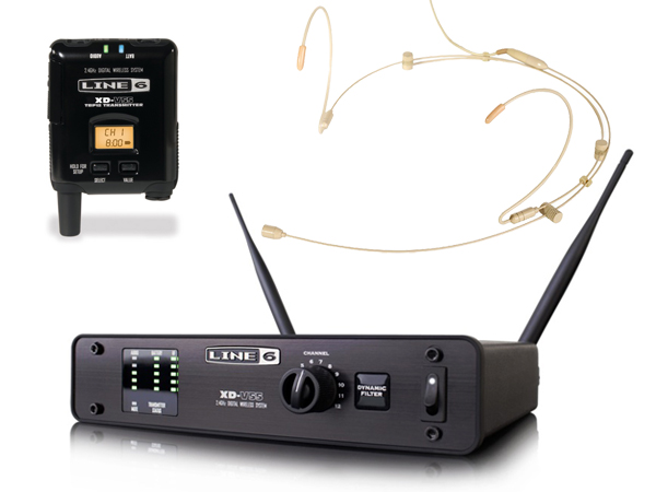 LINE6 ( ラインシックス ) XD-V55HST (タン) [ OUTLET 特価品 ]【在庫限り】◆ 2.4GHz帯デジタルワイヤレスマイクシステム ヘッドセットタイプ【XDV55HST】 [ 送料無料 ]