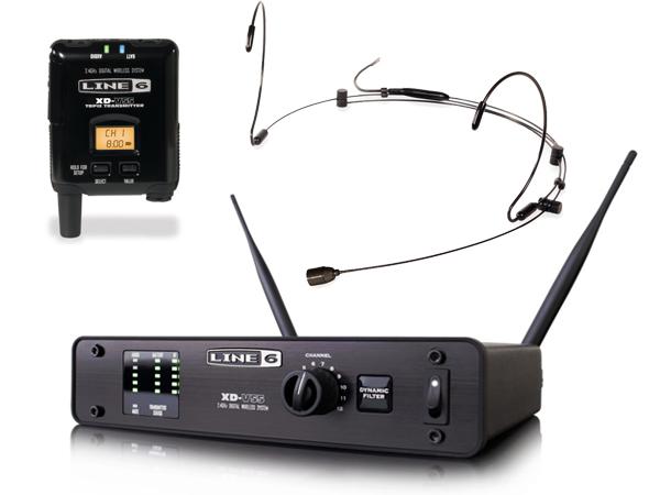 LINE6 ( ラインシックス ) XD-V55HS (ブラック) [ OUTLET 特価品 ]【在庫限り】◆ 2.4GHz帯デジタルワイヤレスマイクシステム ヘッドセットタイプ【XDV55HS】 [ 送料無料 ]