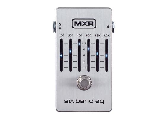 MXR ( エムエックスアール ) M109S Six Band Graphic EQ【6バンド グラフィック・イコライザー WO 】 コンパクトエフェクター