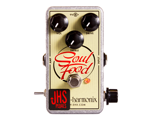 "JHS Pedals Electro-Harmonix Soul Food ""Meat & 3"" Mod【エレハモ オーバードライブ モディファイ WO】【C4061 パッチケーブルプレゼント 】"