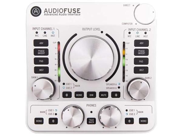 Arturia ( アートリア ) AUDIO FUSE CLASSIC SILVER【AUDIO FUSE SV】 ◆【送料無料】【DTM】【DAW】