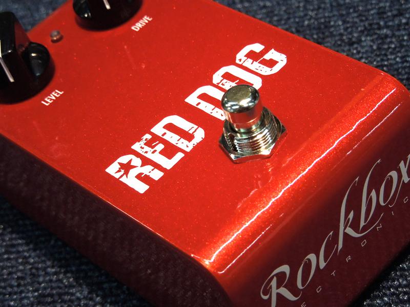 Rockbox Electronics Red Dog【ブースター WO】【C4061 パッチケーブルプレゼント 】