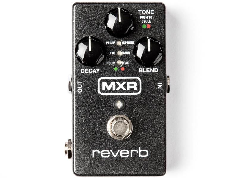 MXR ( エムエックスアール ) M300 Reverb【限定特価】【デジタル・リバーブ WO】【新春特価! C4061 パッチケーブルプレゼント 】