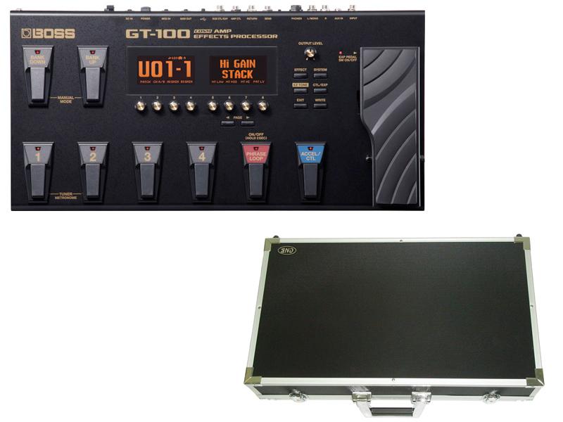 BOSS ( ボス ) GT-100 エフェクターボードセット【PDC-700B 】 ボス マルチエフェクター COSMテクノロジー搭載