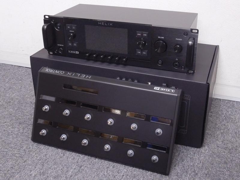 LINE6 ( ラインシックス ) Helix Rack Helix Control バンドルセット【ラック・コントローラーセット WO】【C4061 パッチケーブルプレゼント 】 ギタープロセッサー