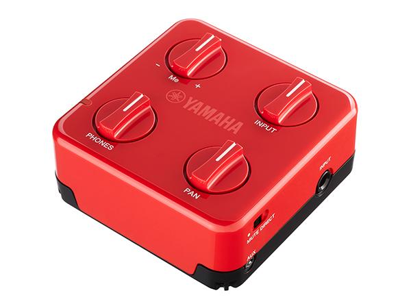新登場 結婚祝い ギター ベースの練習や演奏に適したシンプルなモデル YAMAHA ヤマハ SessionCake アンプ SC-01 赤 ヘッドフォン
